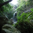 轟の滝にて