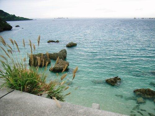 伊計島にて