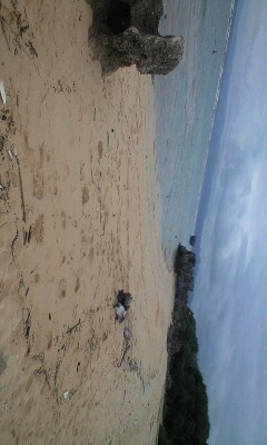 ついに念願の古宇利島のトケイ浜へ!