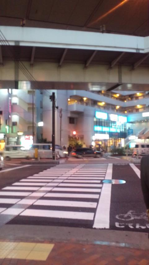 三茶の横断歩道