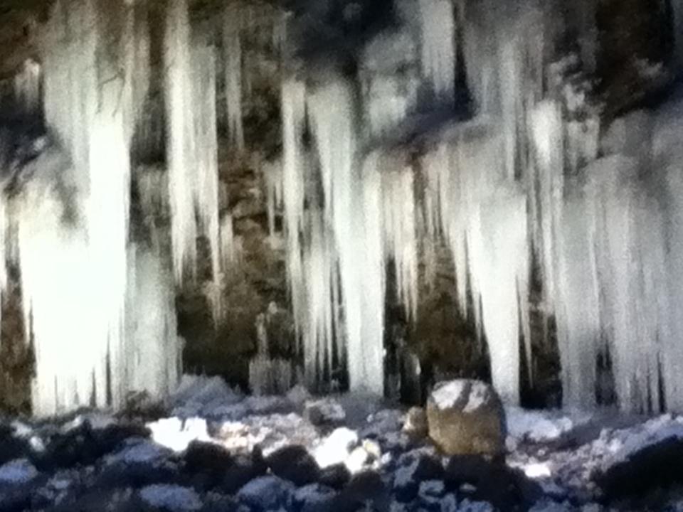Fw:三十槌の氷柱