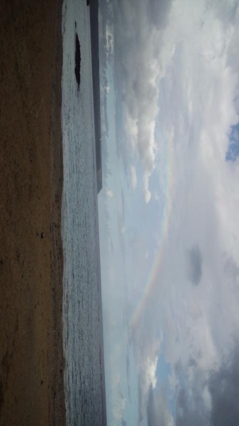 東村のうっぱまビーチ。