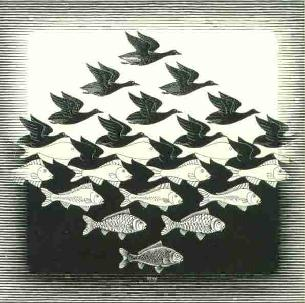 Escher_fishbird