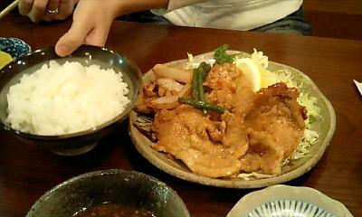 Kawazen_shogayaki