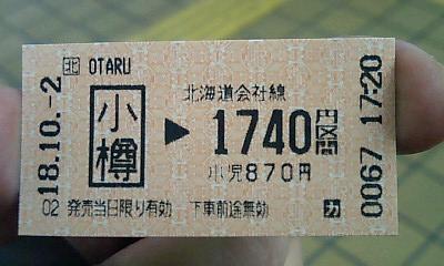 Otaru_ticket